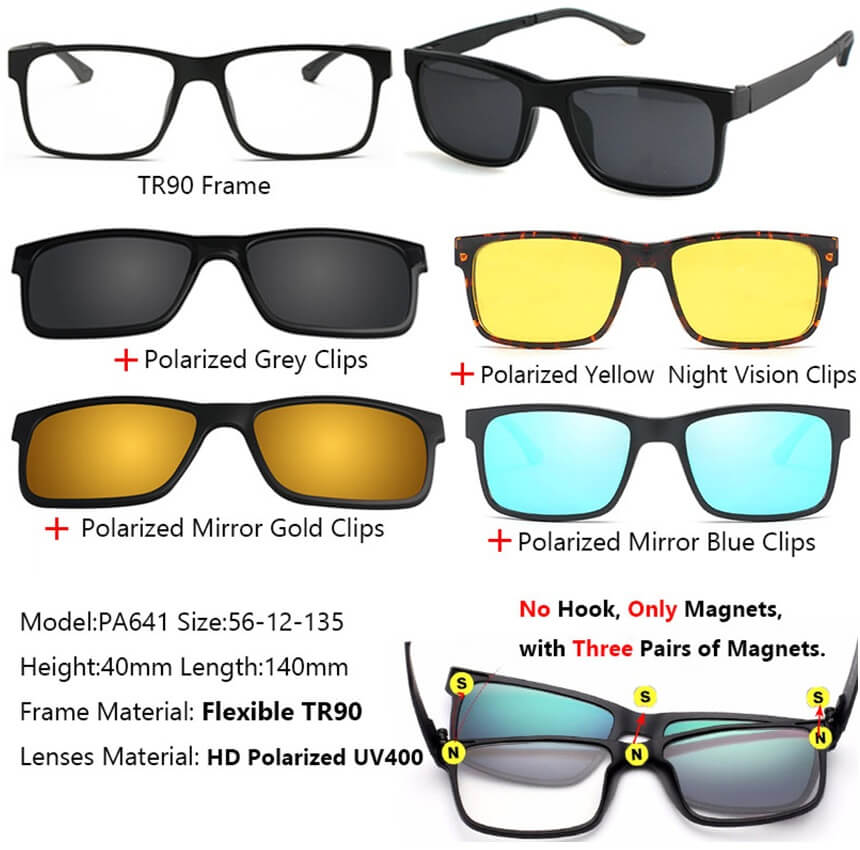 92ee2d8fb9c AUTHENTIC 3 IN 1 POLARIZED PRO VISION GLASSES! – 101shopville
