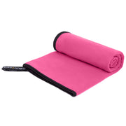 Pink Microfiber Towel - Build and Fitness