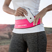 Hot Pink Adjustable Running Belt