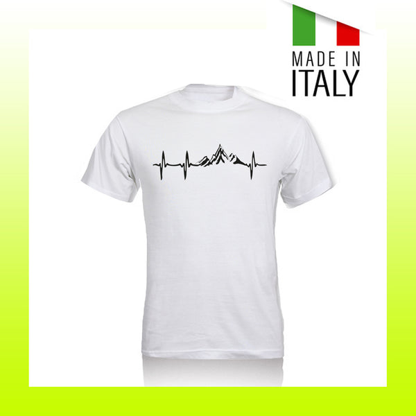 T-SHIRT HAPPINESS BATTITO MONTAGNE - UNISEX