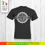 T SHIRT MAGLIA BIKE DOWNHILL BIKER 13 CYCLE MTB BICI IDEA REGALO UOMO DONNA