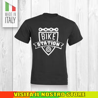 T SHIRT MAGLIA BIKE DOWNHILL BIKER 14 CYCLE MTB BICI IDEA REGALO UOMO DONNA