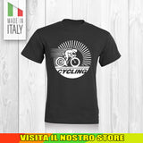 T SHIRT MAGLIA BIKE DOWNHILL BIKER 18 CYCLE MTB BICI IDEA REGALO UOMO DONNA