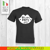 T SHIRT MAGLIA BIKE DOWNHILL BIKER 19 CYCLE MTB BICI IDEA REGALO UOMO DONNA