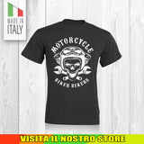 T SHIRT MAGLIA 3 BIKER MOTO CYCLE CHOPPERS MOTOR VINTAGE OLD UOMO DONNA