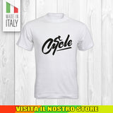 T SHIRT MAGLIA BIKE DOWNHILL BIKER 2 CYCLE MTB BICI IDEA REGALO UOMO DONNA