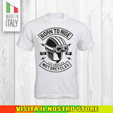 T SHIRT MAGLIA 13 BIKER MOTO CYCLE CHOPPERS MOTOR VINTAGE OLD UOMO DONNA