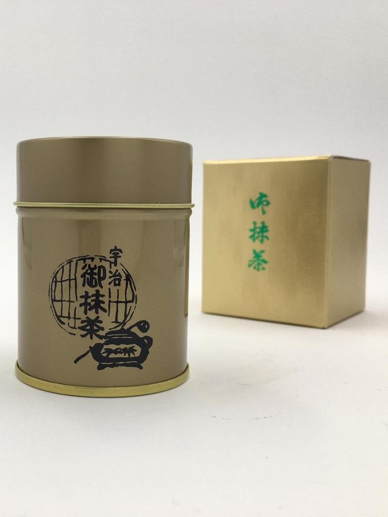 Matcha Tee aus Japan in der Dose