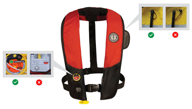 Ever wonder how to inspect your PFD?