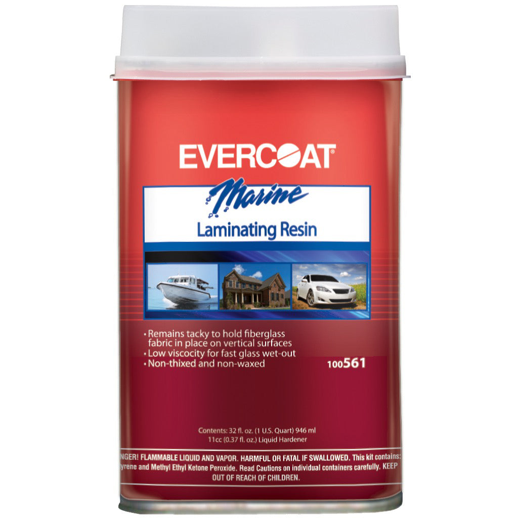 Evercoat Laminating Resin Unwaxed (Quart)