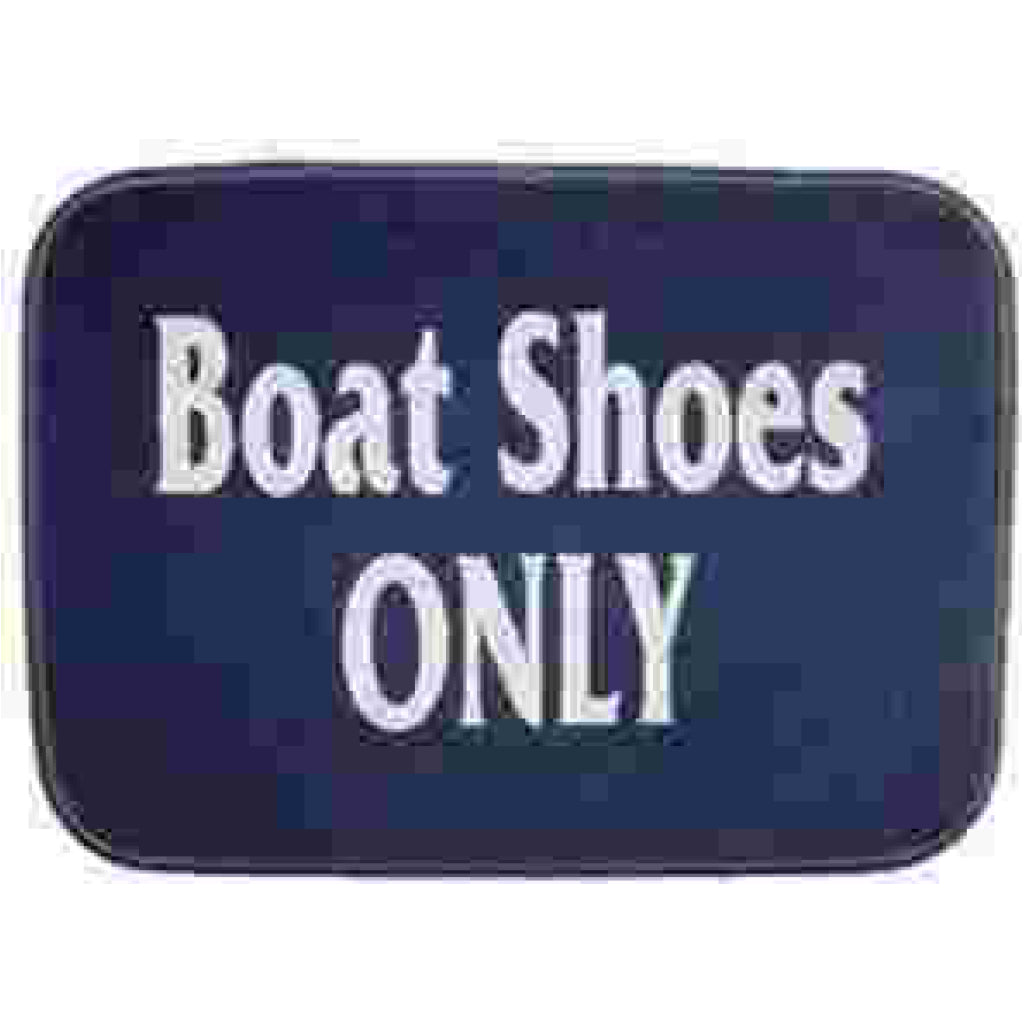 Matworks Boat Shoes Only Mat Navy