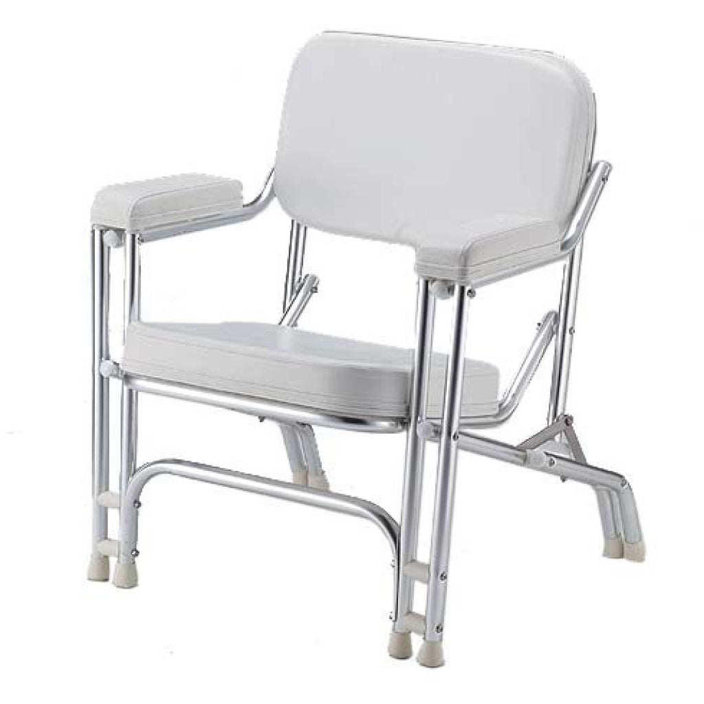 DOUBLE LEG YACHT CHAIR WHITE