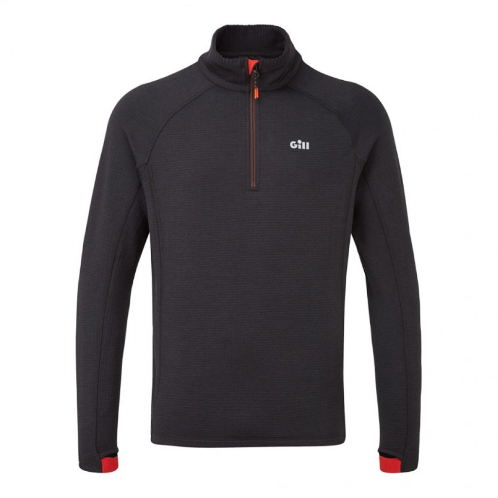 Men's OS Thermal Zip Neck