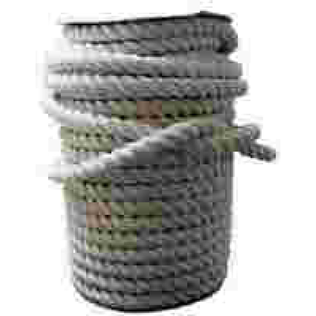 "Nylon 1.25"" White Twisted Rope (sold per foot)"