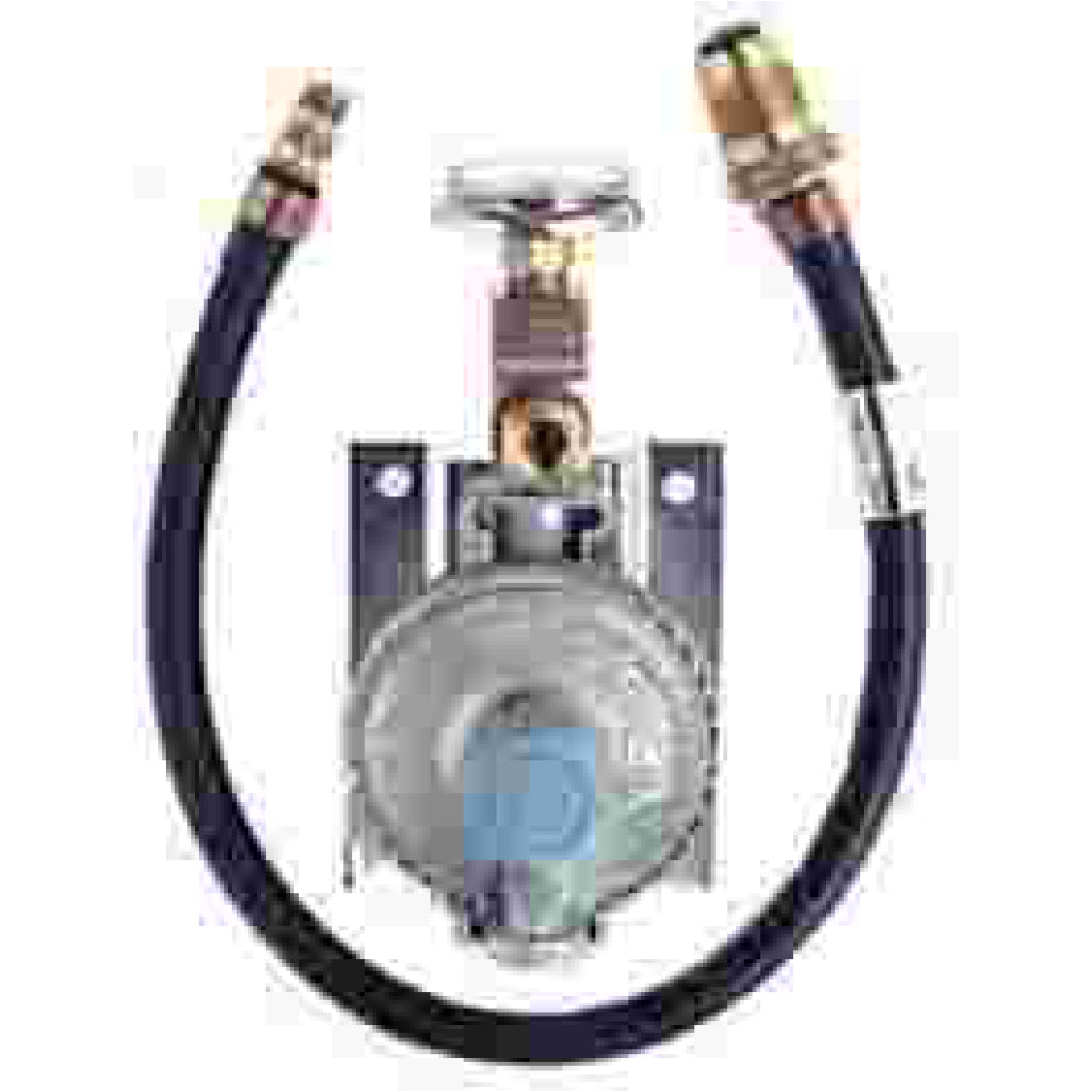 Trident Marine Lpg Regul Ator with Guage & Bracket