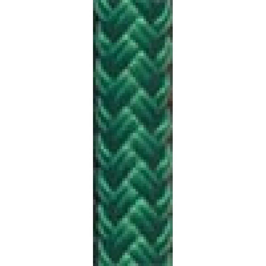 "1/2"" Solid Green Dacron Yacht Braid (sold per foot"