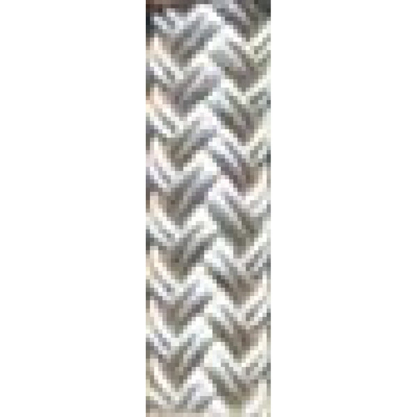 "1/2"" White Nylon Braid Rope (sold per foot)"