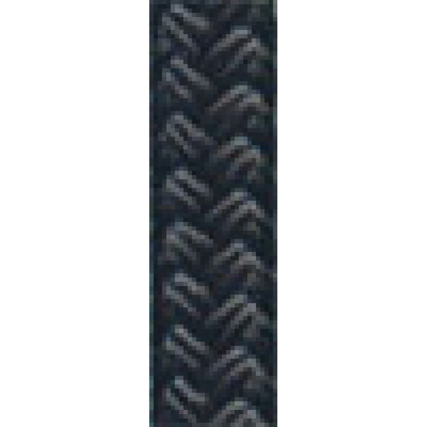 "1/2"" Black Nylon Braid Rope (sold per foot)"