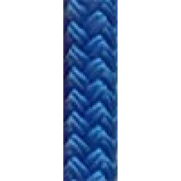 "1/4"" Solid Blue Dacron Yacht Braid Rope (sold per"
