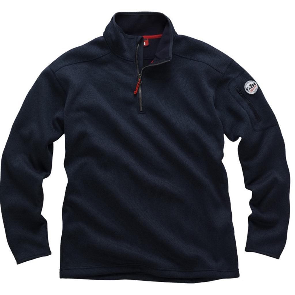 Gill Men's Knit Fleece, Navy/XXLarge *DISC*