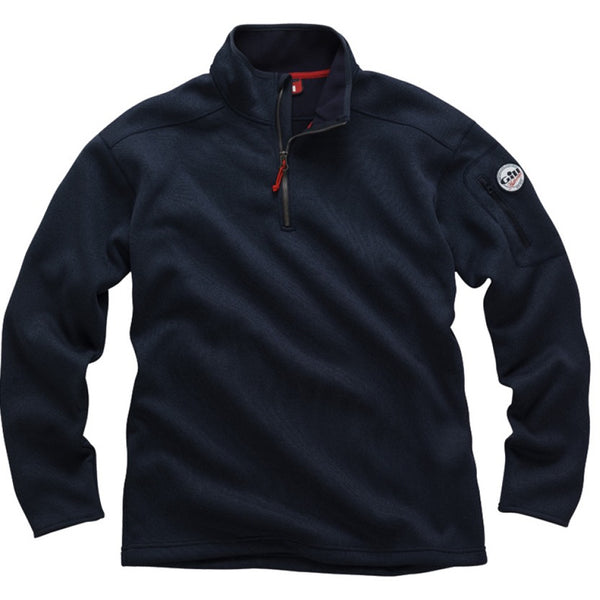 Gill Men's Navy Knit Fleece