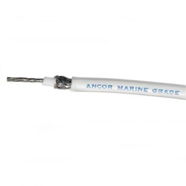 Ancor White Coaxial Cable