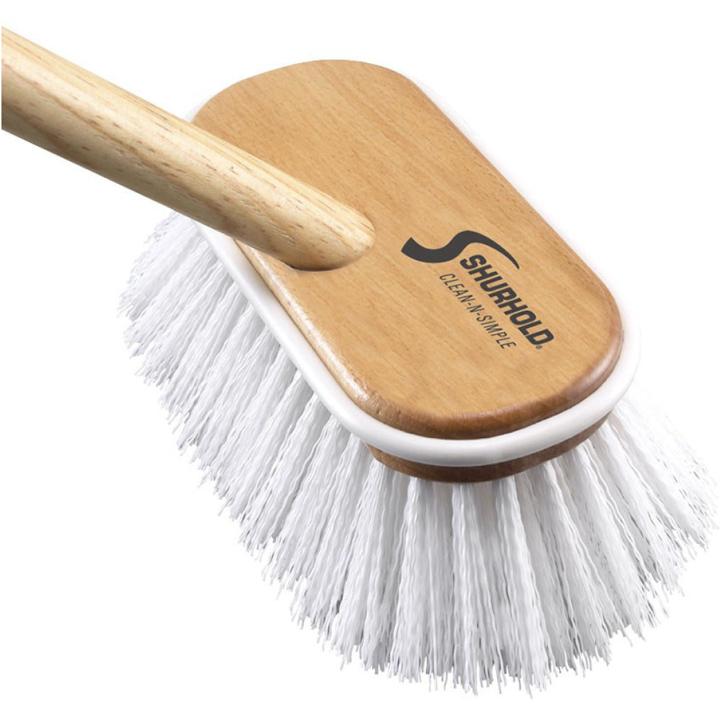 Shurhold Stiff Brush (with Handle)