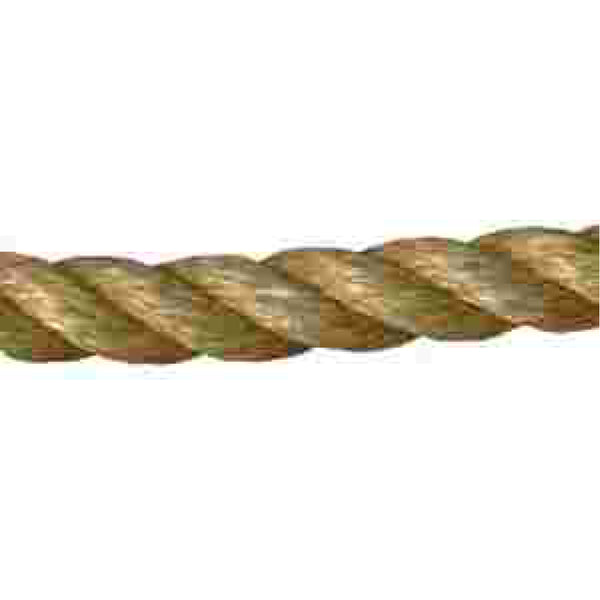 "1.5"" Manilla Twist Rope (16650lb Tensile, sold per"