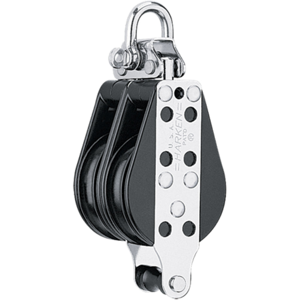 "Harken 2.25"" Double Becket Block."