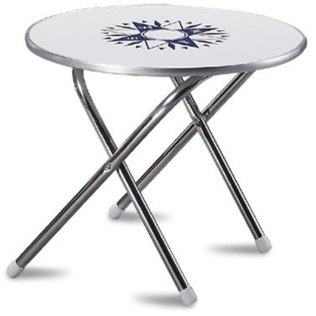 "24"" Diameter Round Folding Table"
