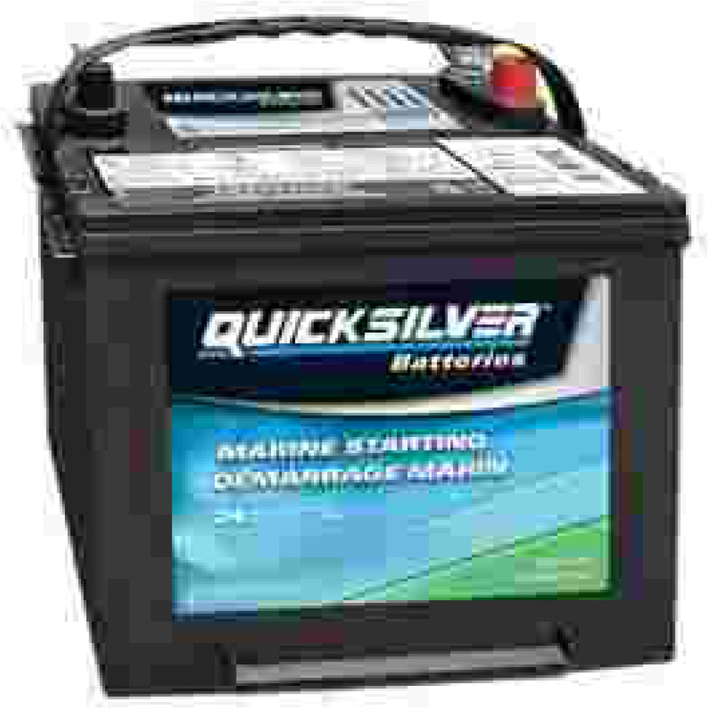 Quicksilver 12V 550CCA Marine Starting Battery