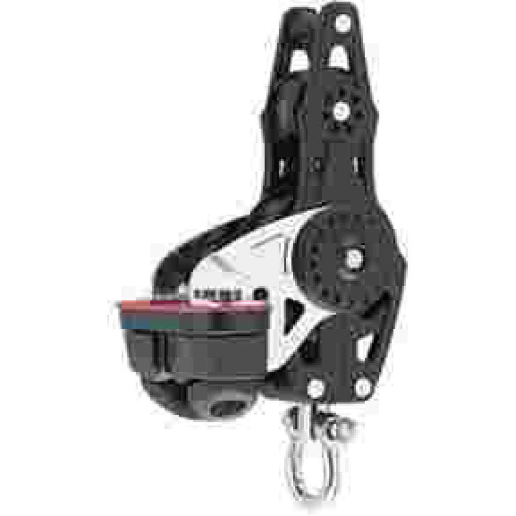 Harken 57mm Carbo Fiddle (w/Cam Cleat & Becket)