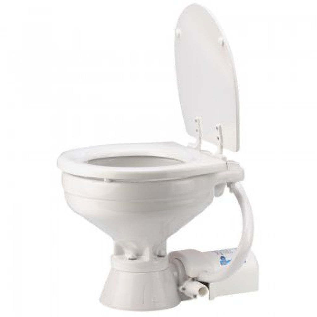 Jabsco 12 Volt Quiet Flush Electric Toilet