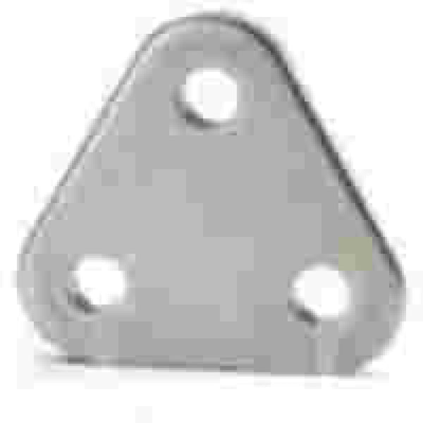 "Johnson 1/4"" Diamond Plate Backstay Pin"