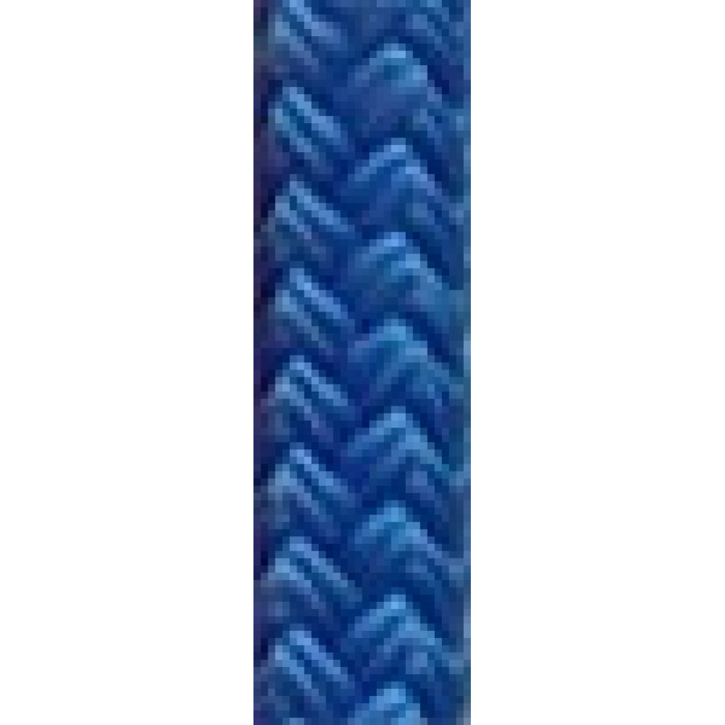"3/8"" Solid Blue Dacron Yacht Braid (per foot)"