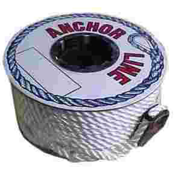 "3/8"" x 50' Twisted White Anchor Line"