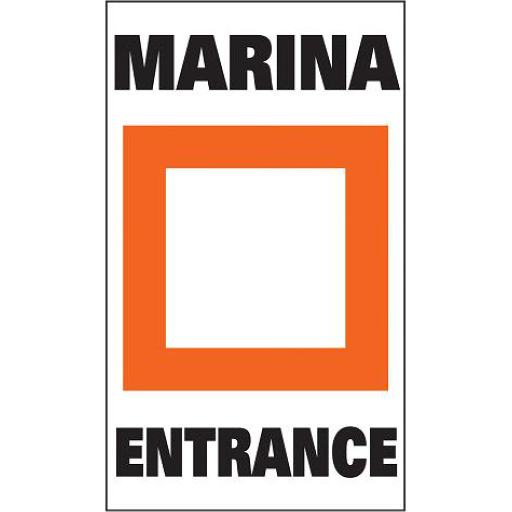 Taylor Marina Entrance Label (pair)