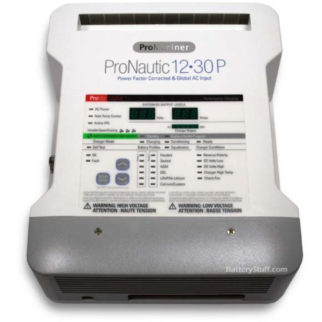 Pronautic 12V 30A 3 Bank Battery Charger