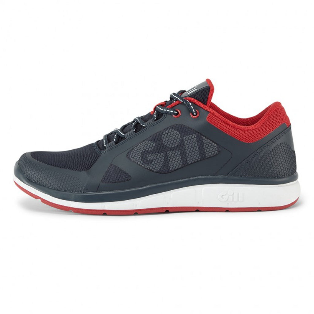 Gill Mawgan Trainer Shoe Navy.