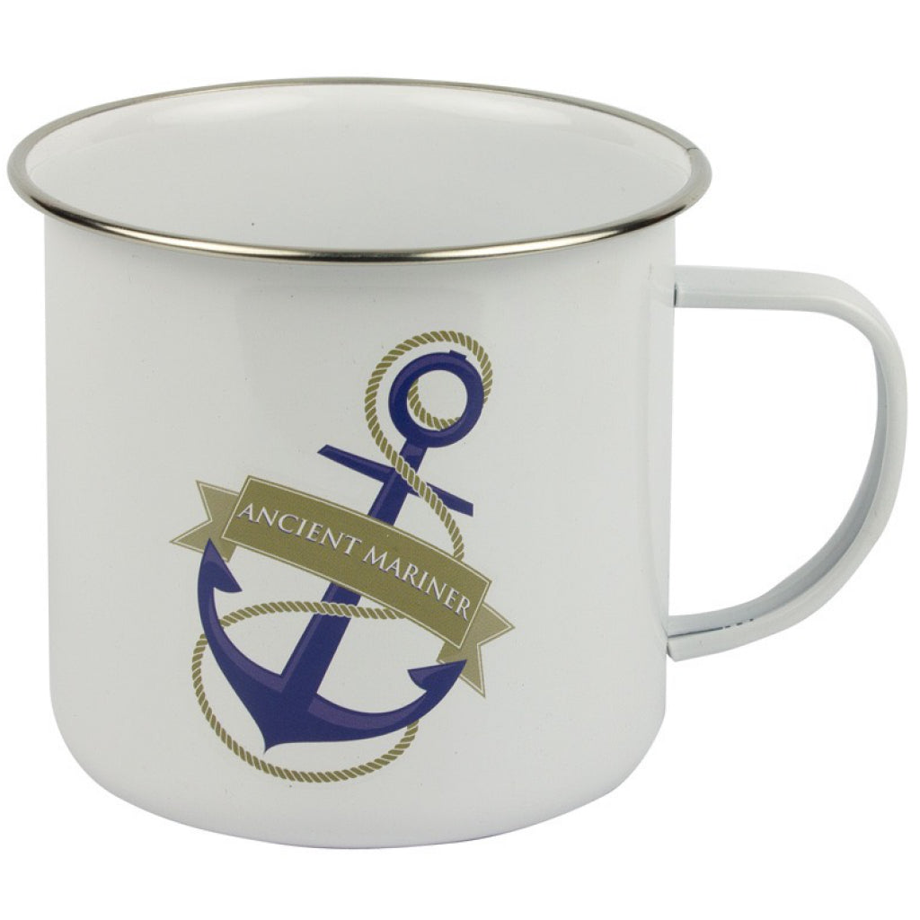 'Ancient Mariner' Tin Mug