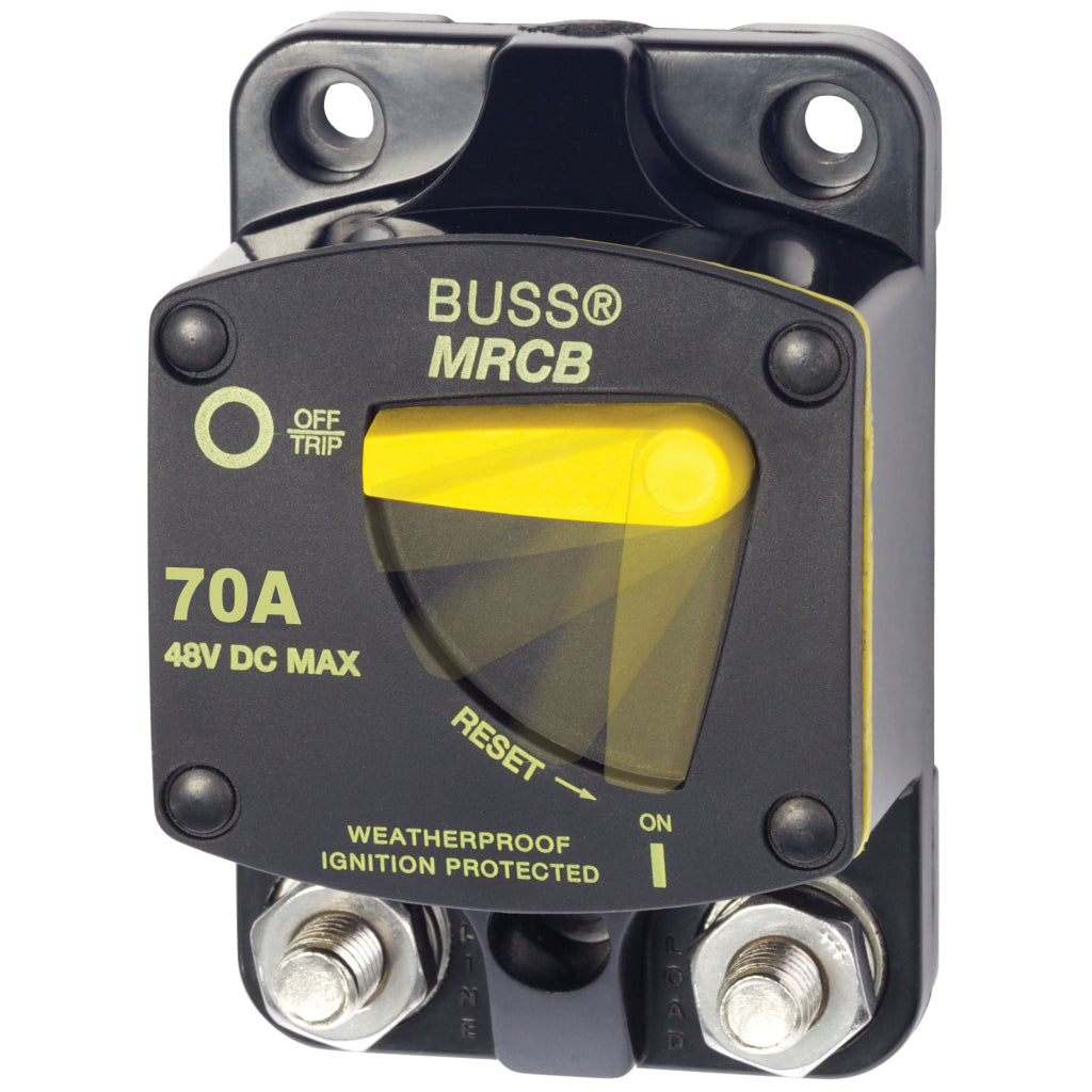 Blue Sea 7141 187-Ser. Circuit Br. Surf. Mount 70A