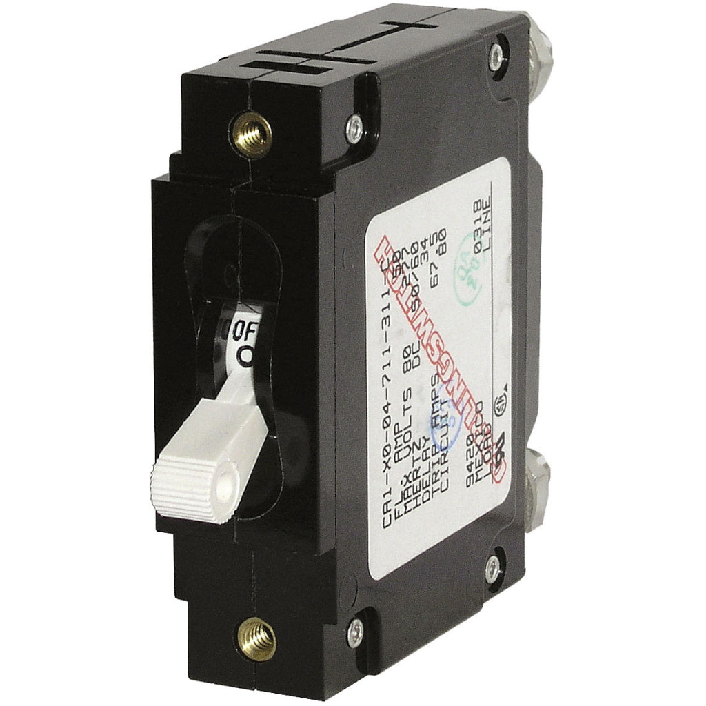 Blue Sea 60A Single Pole Toggle Circuit Breaker