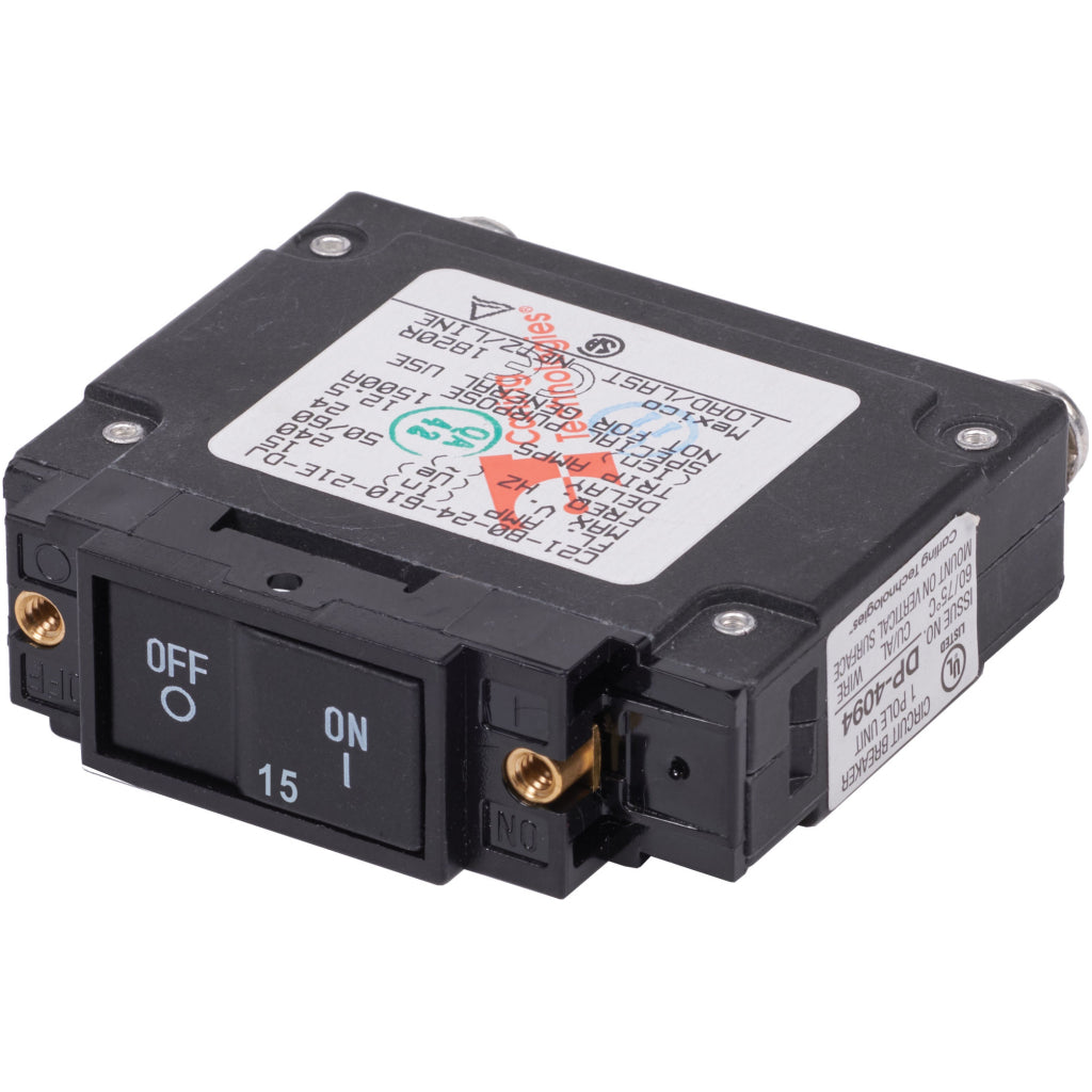 Blue Sea 15A UL-489 Circuit Breaker
