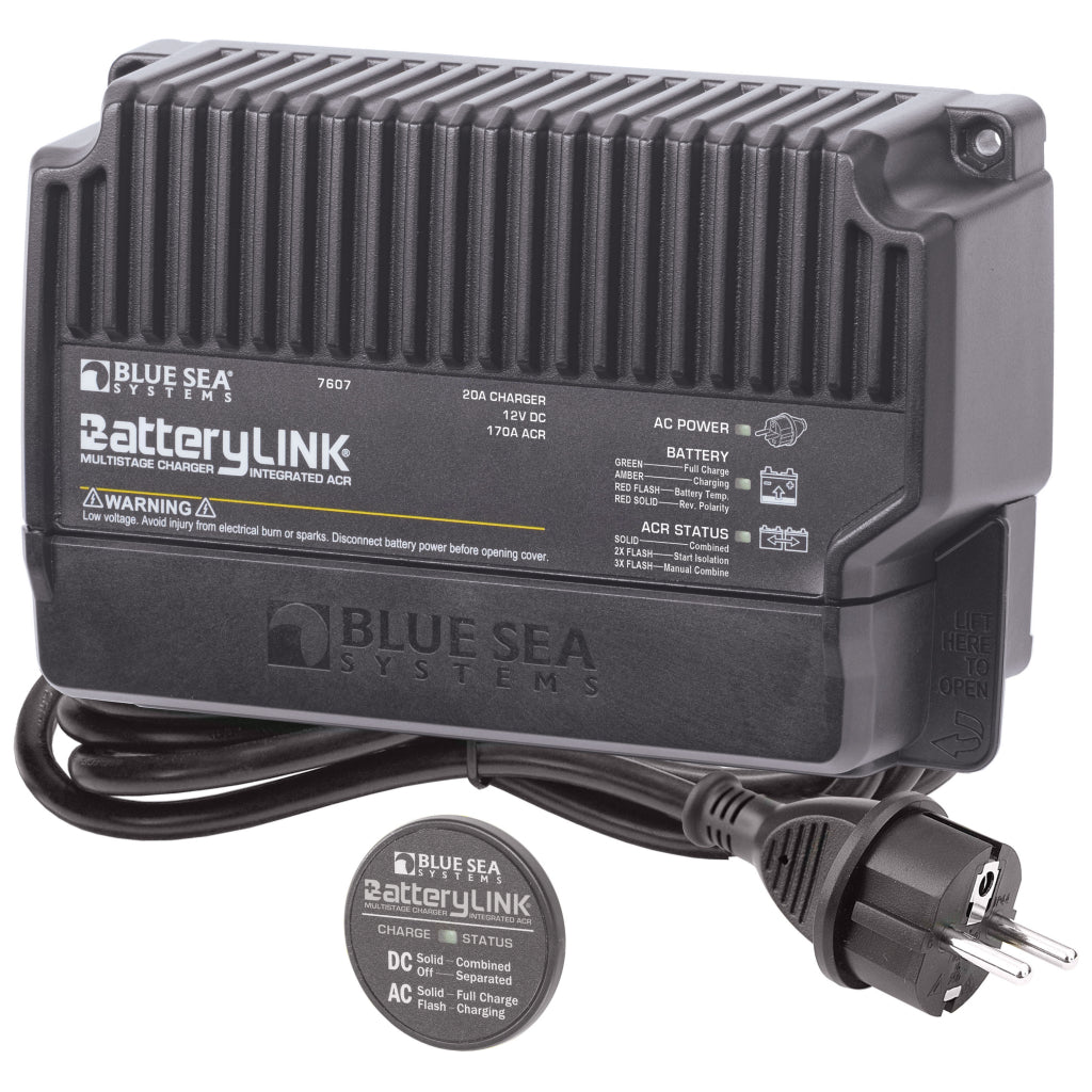 Blue Sea 20A BatteryLink Charger