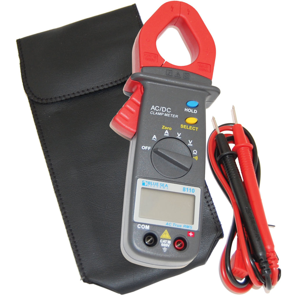 Blue Sea 8110 Mini Clamp Multimeter - AC/DC