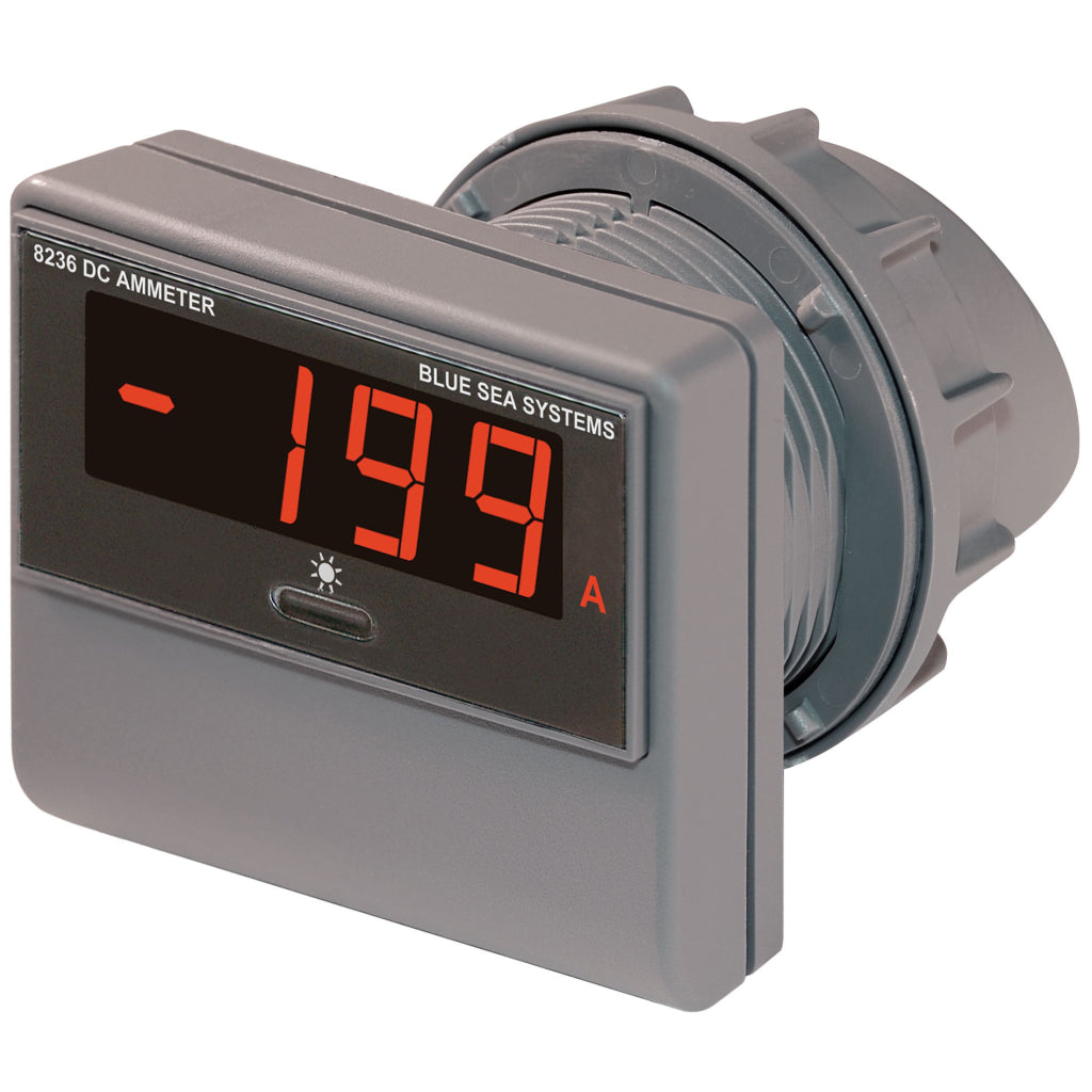 Blue Sea 8236 DC Digital Ammeter - 500 to 500A