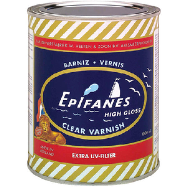 Epifanes Clear Gloss Varnish-1000ml