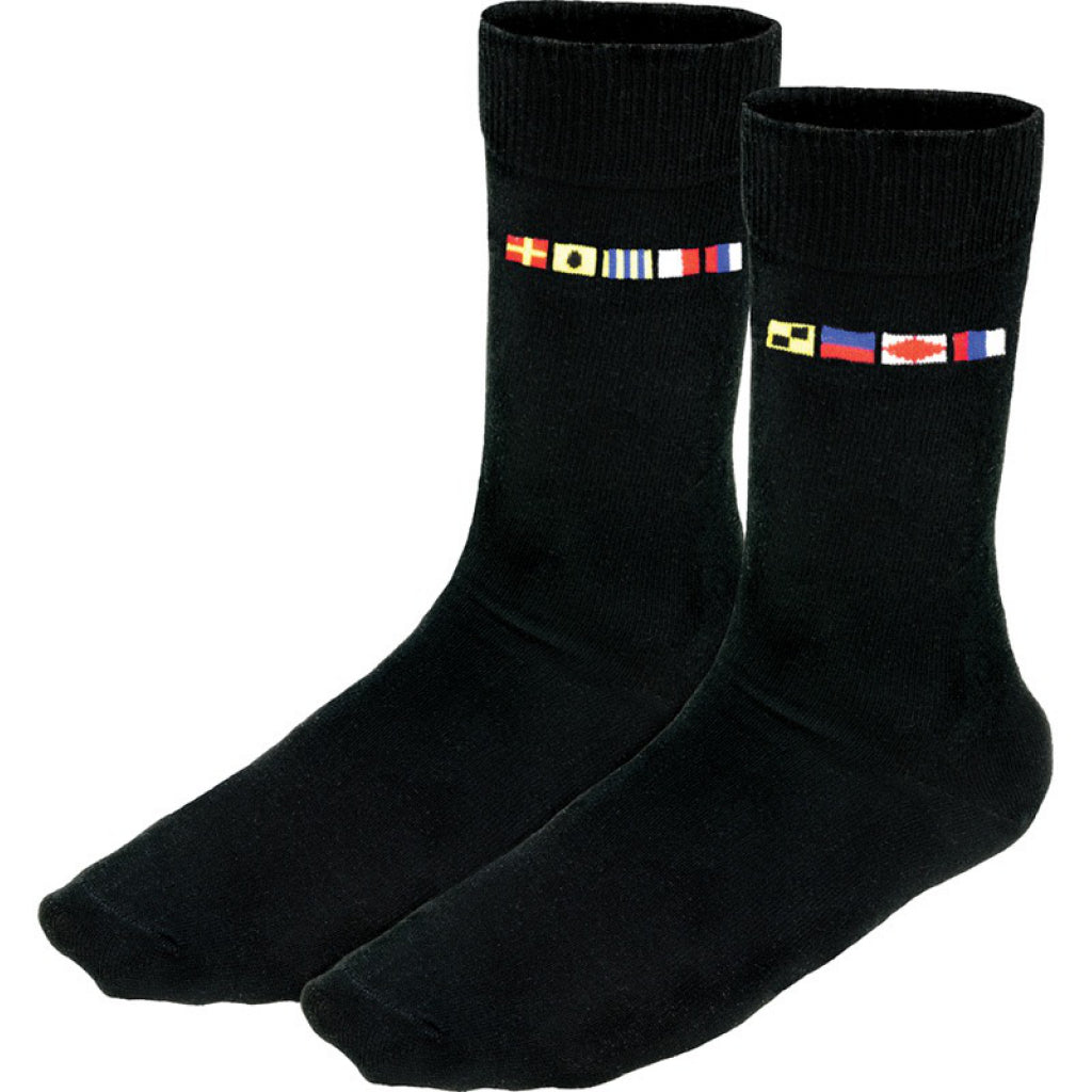 Crew Code Flag Socks