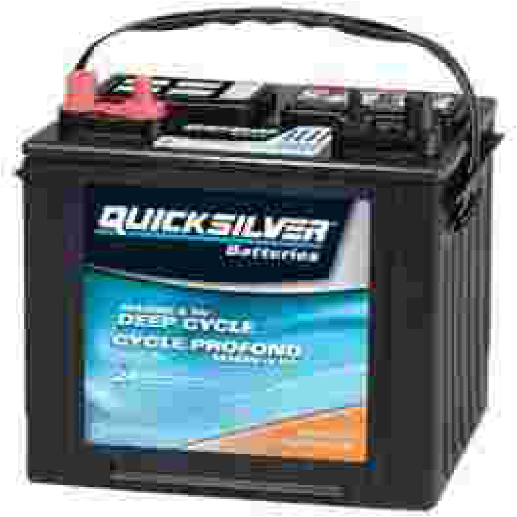 Quicksilver 12V Group 27 Deep Cycle Battery