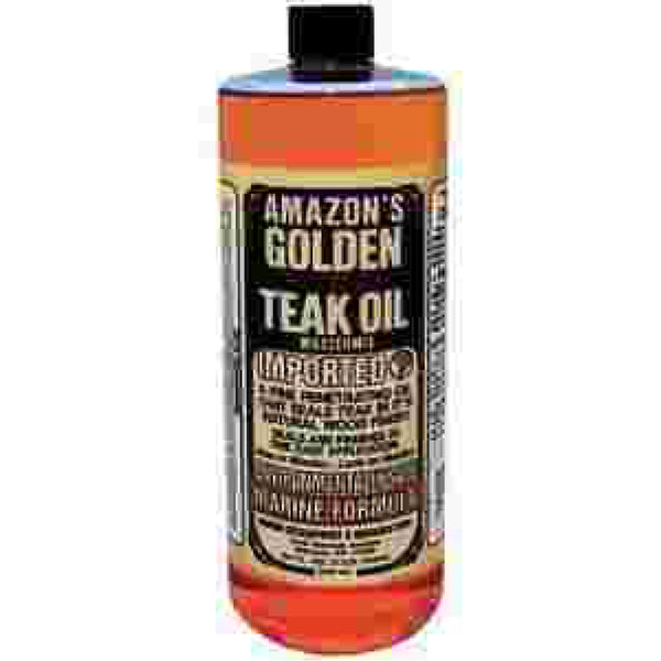 16 oz. Gold Teak Oil